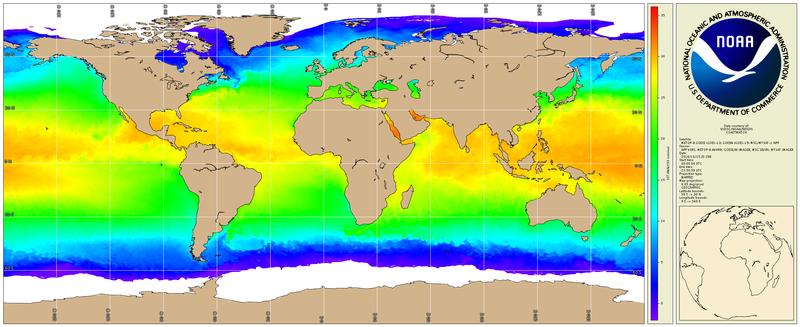 NOAA Geo-Polar Blended Global Sea Surface Temperature